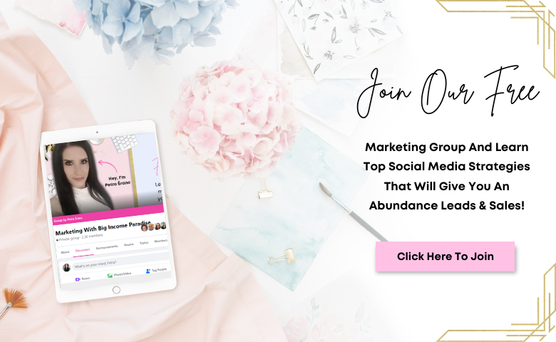 Marketing with Big Income Paradise - Facebook Group
