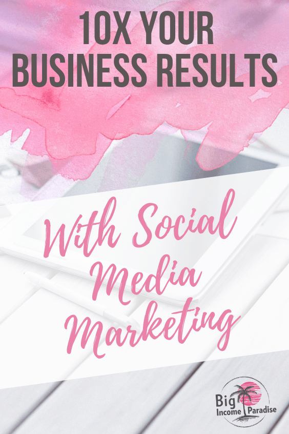 You can 10X your business results if you change just a couple of things in your social media marketing strategy. Your online business results will skyrocket if you will be a good social media marketer and follow the footsteps of leaders and pros in this online business industry. #BigIncomeParadise #SocialMediaMarketingStrategies #10xyourbusiness #skyrocketyourbusiness #socialmediaresults