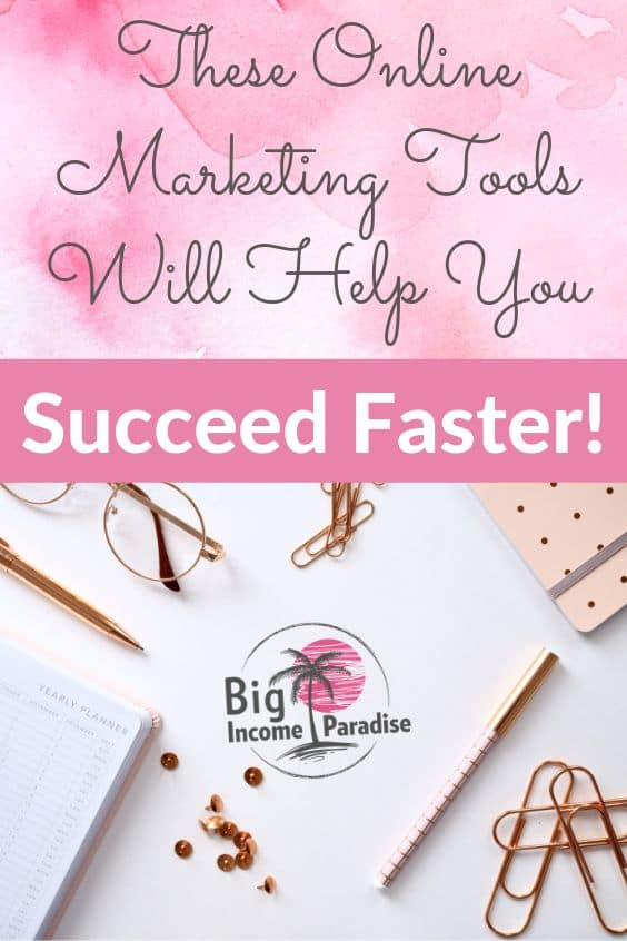These online marketing tools are a must for all entrepreneurs and marketers. We gathered together online marketing best professional tools because they will help you achieve more with less time spending online. So check out online marketing tools for entrepreneurs, test them out and see which ones work best for you. #BigIncomeParadise #entrepreneurtools #onlinemarketingtools #successfulentrepreneurs #toolsforbloggers #toolsformarketers