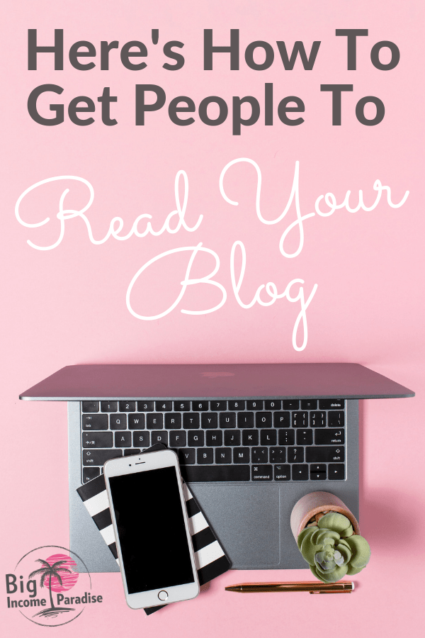 If you have a blog, then you want people to read it. But many bloggers are not seeing great results. So if you want to increase blog traffic and get people to read your blog posts, then you need to learn a few special strategies and techniques. Check out my blog post and Re-Pin for later. Don't forget to grab freebies inside! #BigIncomeParadise #Blogging101 #BloggingIdeas #BloggingContentTips #BloggingStrategy #bloggingtipsideas #tipsforblogging