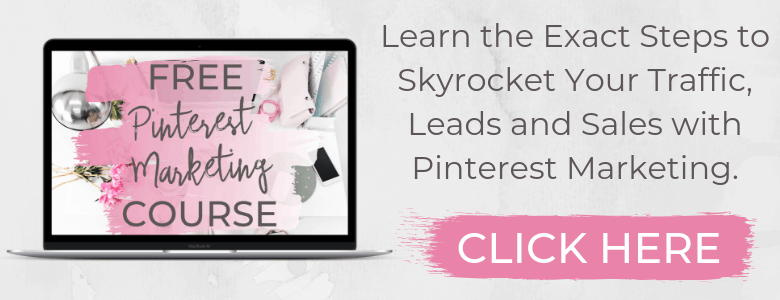 Learn the Exact Steps to Skyrocket Your Traffic, Leads andSales with Pinterest Marketing.