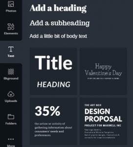 Pinterest Images - Canva fonts