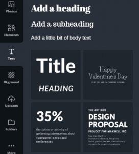 Pinterest Images - Canva fonts