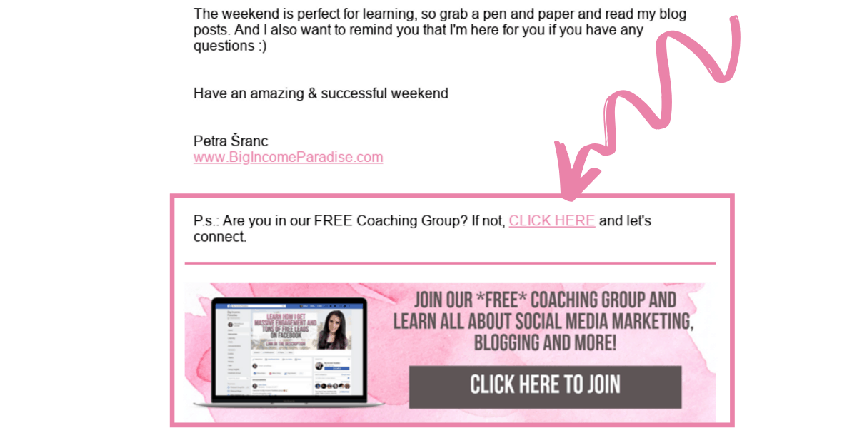 Invite your email subscribers and grow Facebook group