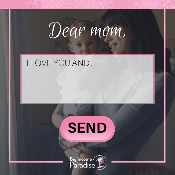Mother's Day Posts For Facebook - Send a note to your mom