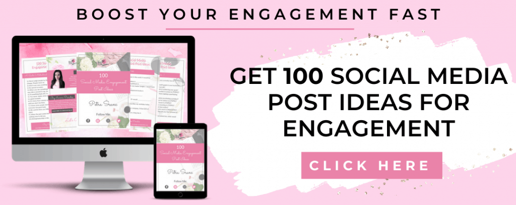 100 Social Media Post Ideas for Engagement - By Big Income Paradise