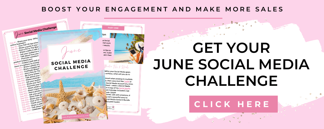 June Social Media Challenge - Big Income Paradise