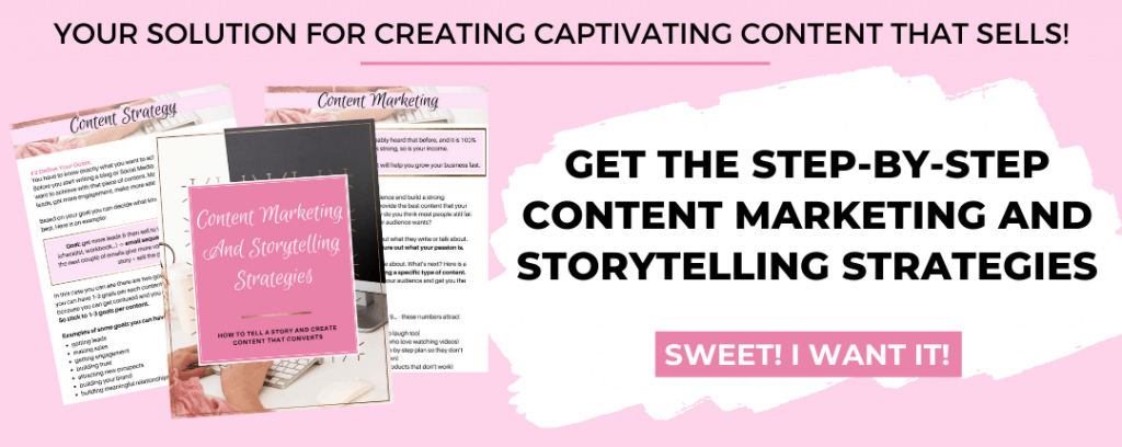 content marketing and storytelling strategies