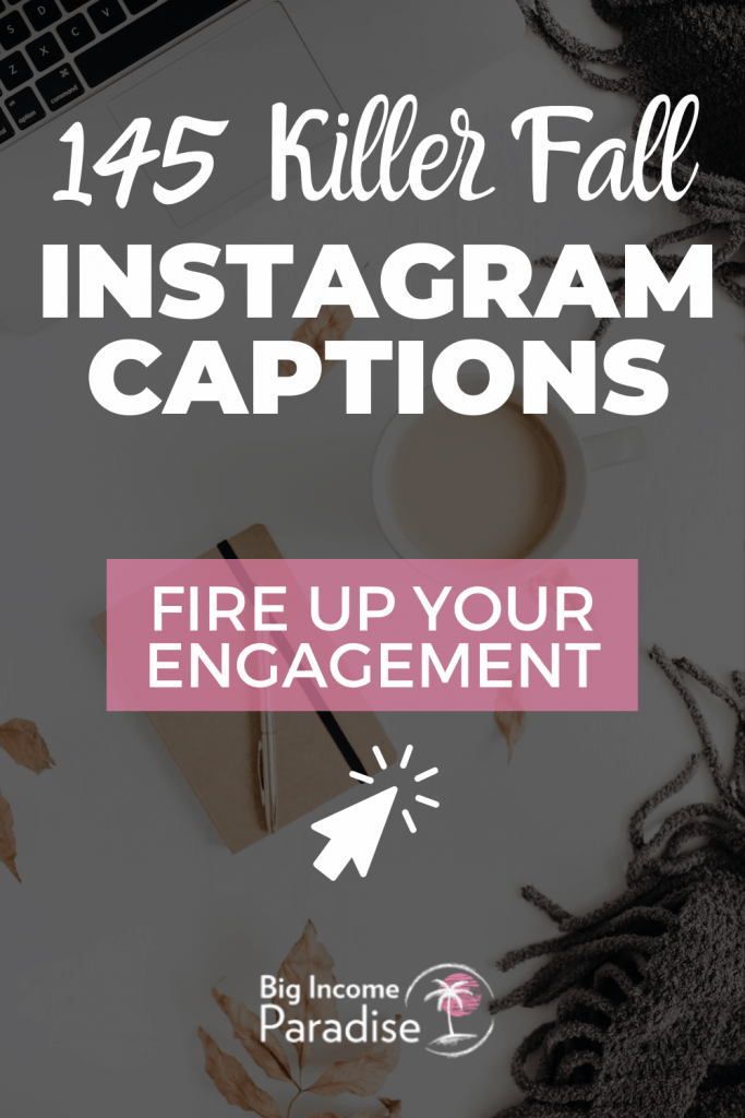 145 Unique Fall Instagram Captions For Your Small Business