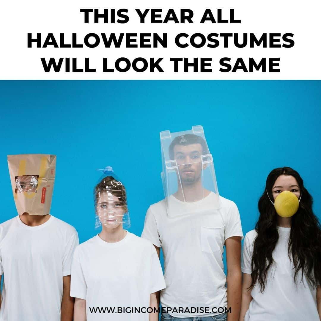 this year all halloween costumes will look the same - Funny Halloween memes