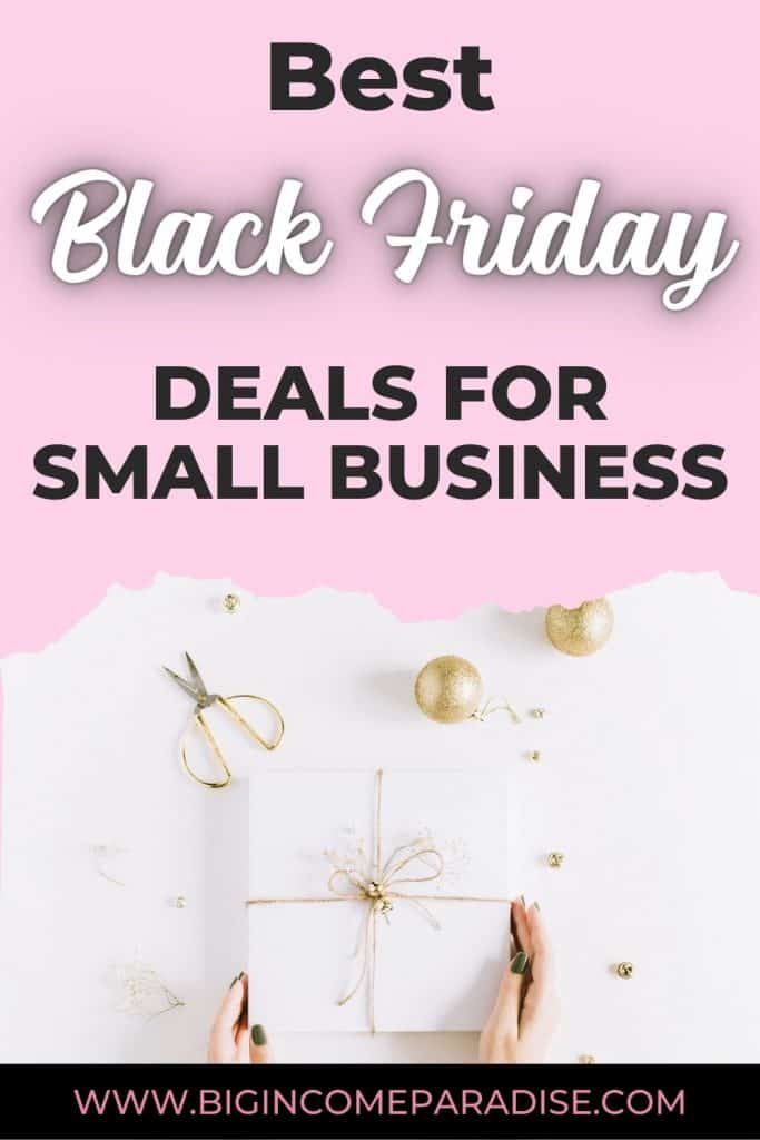 Best Black Friday Deals for Small Business
