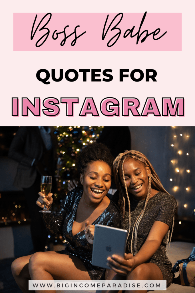 Boss Babe Quotes For Instagram - Business Motivational Quotes