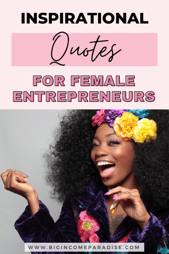 Inspirational Quotes For Female Entrepreneurs