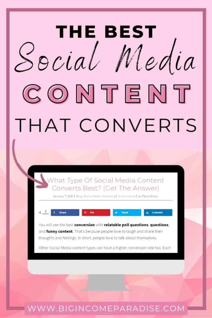Best Social Media Content That Convers