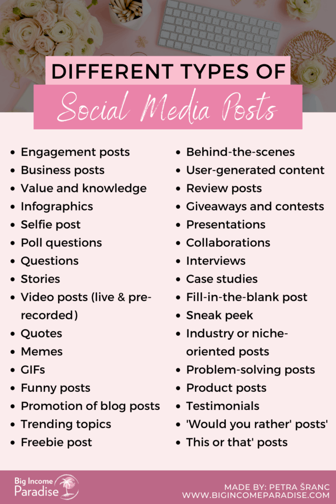Different-Types-Of-Social-Media-Posts