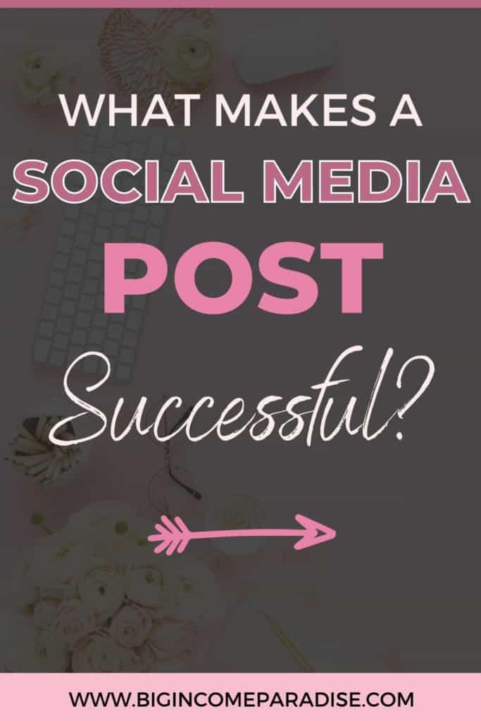 How To Make Social Media Post Successful. Social Media Content Ideas.