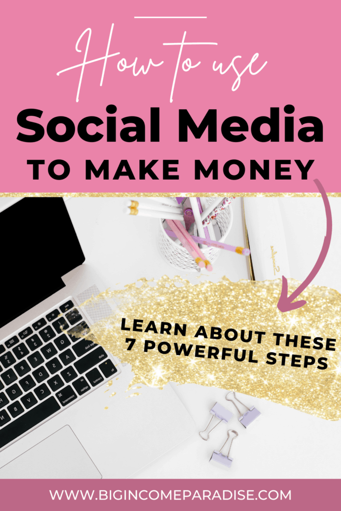 How To Use Social Media To Make Money