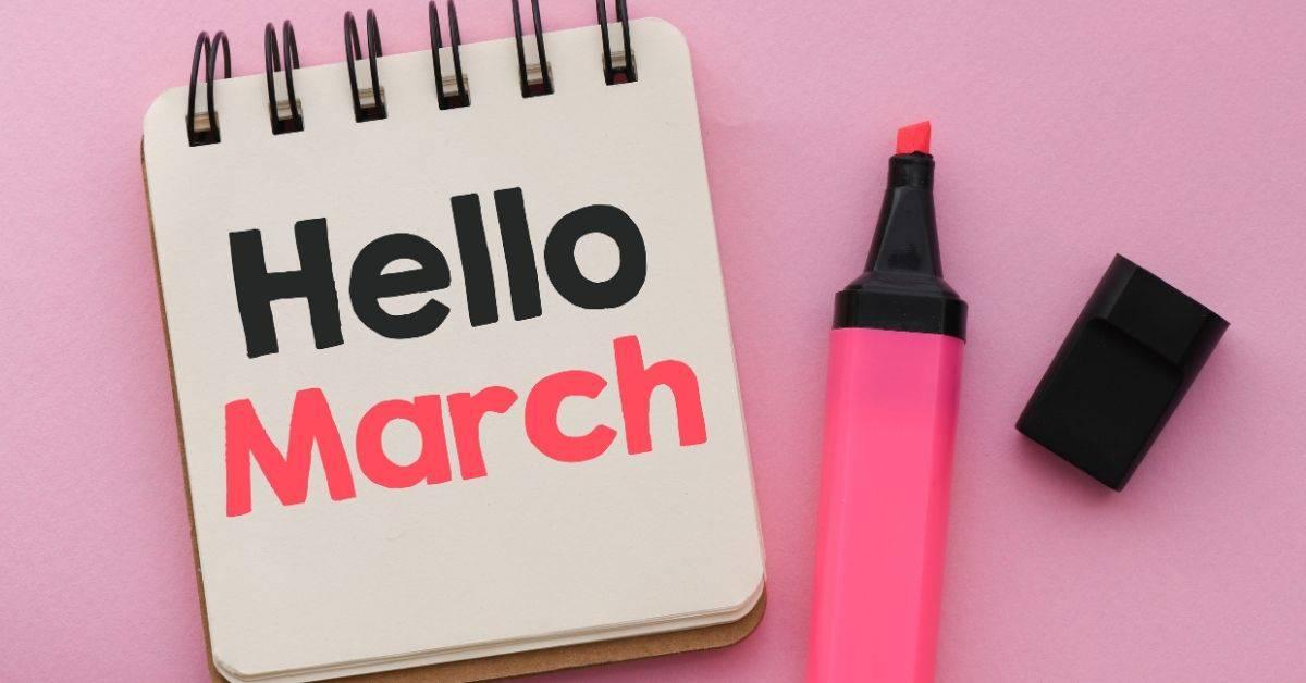 March Social Media Holidays