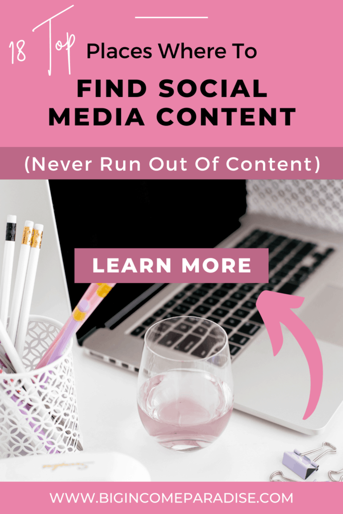 Where To Find Social Media Content (18 Top Places)