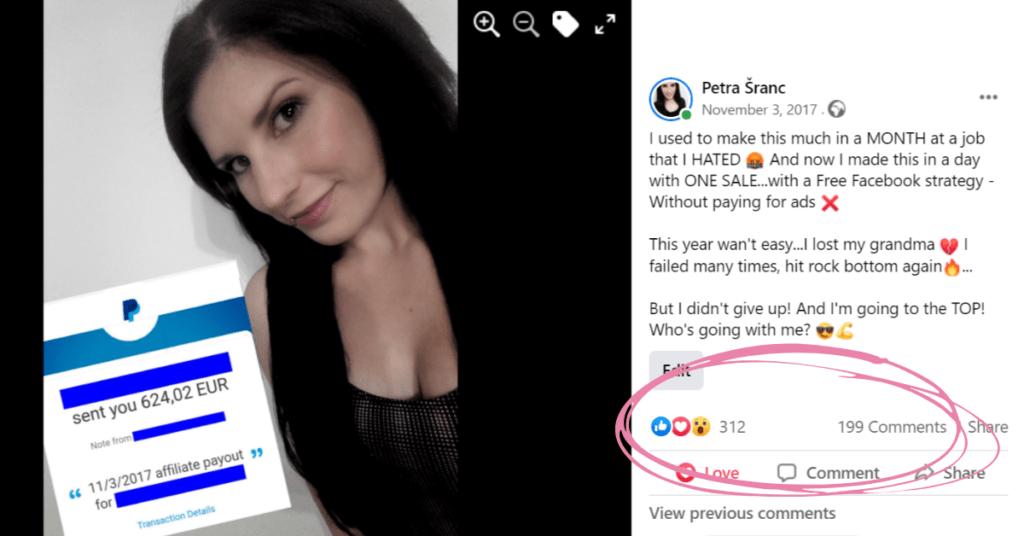 Facebook Engagement Formula