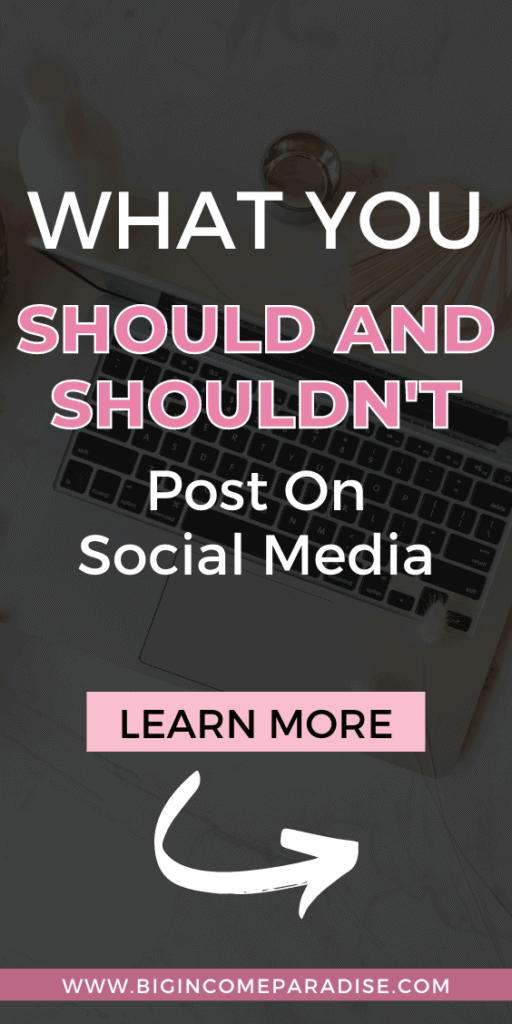 What You Should And Shouldn't Post On Social Media