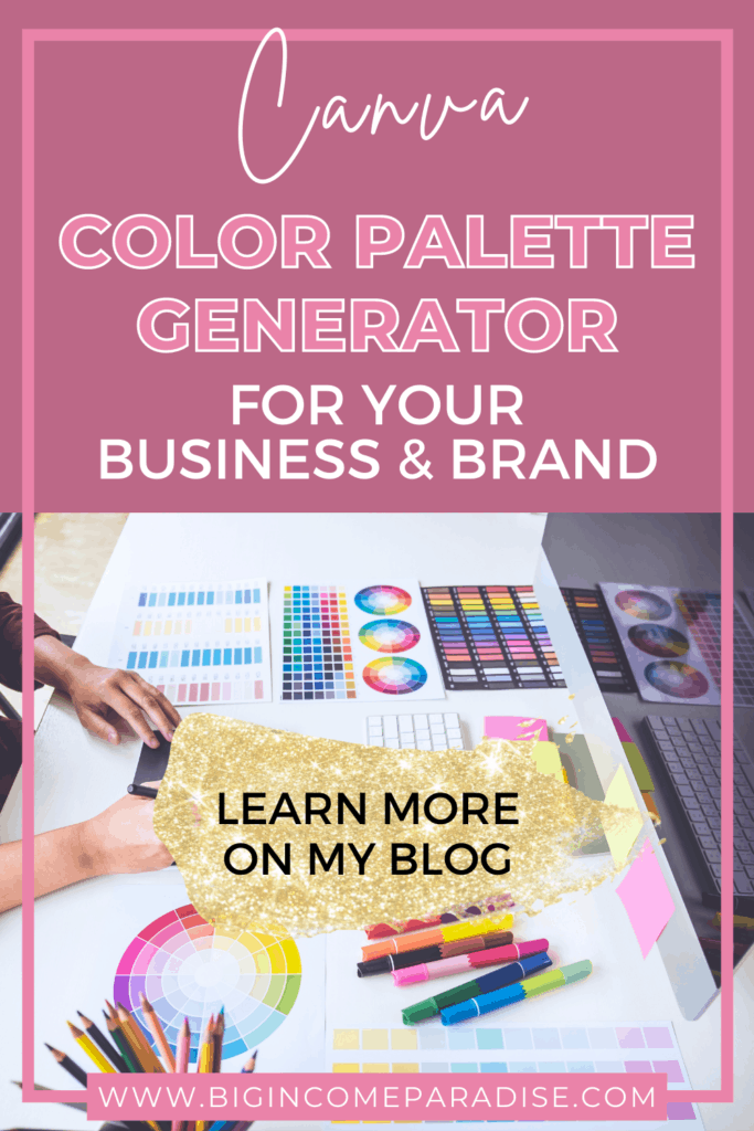 Canva Color Palette Generator For Your Business & Brand