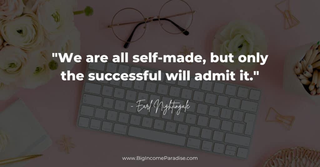 self-made, successful